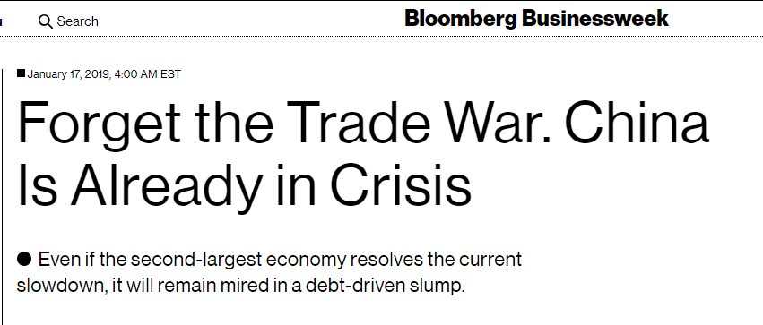 bloomberg headline